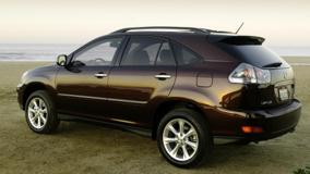 2009 Lexus RX 350 Side Pose In Brown